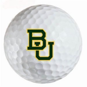 Baylor Bears Refinished Titleist ProV1 Golf Balls