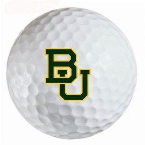 Baylor Bears Refinished Titleist ProV1 Golf Balls