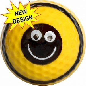 Bee Golf Balls Novelty One Dozen
