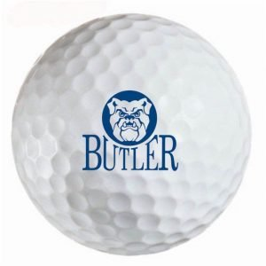 Butler Bulldogs Refinished Titleist ProV1 Golf Balls