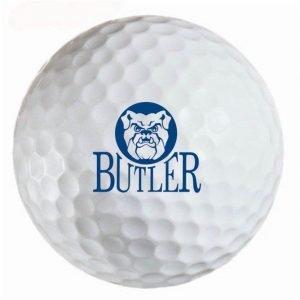 Butler Bulldogs Refinished Titleist ProV1 Golf Balls