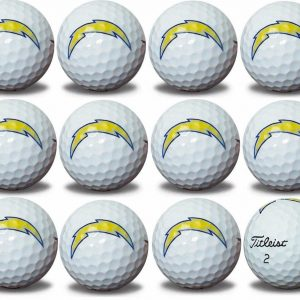 Chargers Refinished Titleist ProV1 Golf Balls