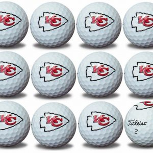 Chiefs Refinished Titleist ProV1 Golf Balls