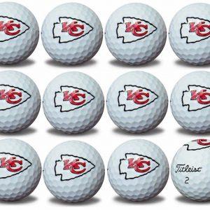 Chiefs Refinished Titleist ProV1 Golf Balls
