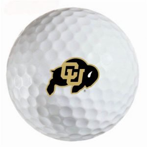 Colorado Buffaloes  Refinished Titleist ProV1 Golf Balls