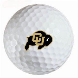Colorado Buffaloes  Refinished Titleist ProV1 Golf Balls