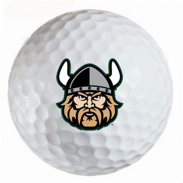 CSU Vikings  Refinished Titleist ProV1 Golf Balls