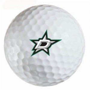 Dallas Stars Refinished Titleist ProV1 Golf Balls