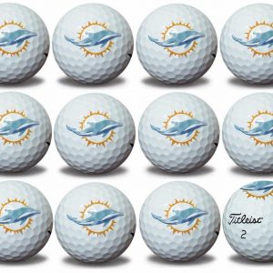 Dolphins Refinished Titleist ProV1 Golf Balls