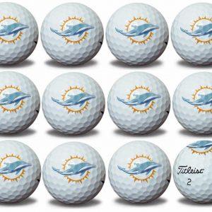 Dolphins Refinished Titleist ProV1 Golf Balls