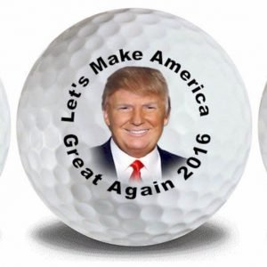 Donald Trump Pence Flag Golf Ball 3 Pack