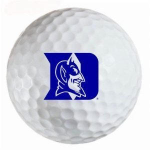 Duke Blue Devils  Refinished Titleist ProV1 Golf Balls