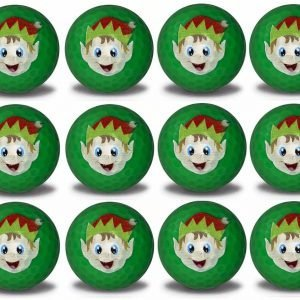 Elf Imprint Novelty golf balls 12 pack