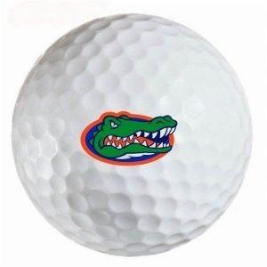 Florida Gators  Refinished Titleist ProV1 Golf Balls