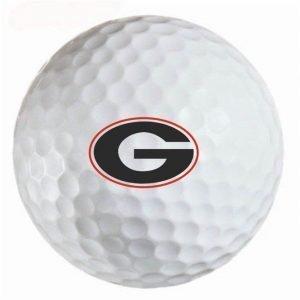 Georgia Bulldogs  Refinished Titleist ProV1 Golf Balls