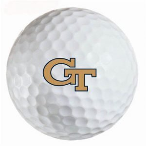 Georgia  Yellow Jackets Refinished Titleist ProV1 Golf Balls