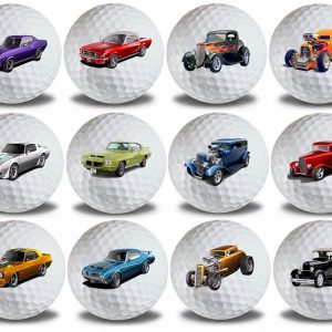 Hot Rod - Muscle Cars Golf Balls