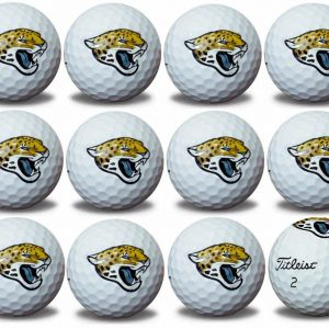 Jaguars Refinished Titleist ProV1 Golf Balls