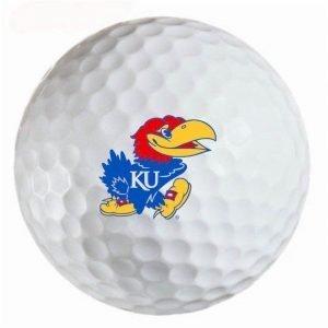 Kansas Jayhawks Refinished Titleist ProV1 Golf Balls