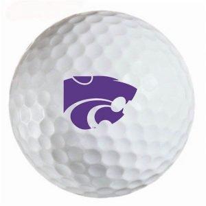 Kansas State Wildcats Refinished Titleist ProV1 Golf Balls
