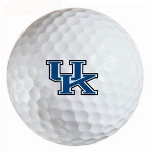 Kentucky Wildcats  Refinished Titleist ProV1 Golf Balls