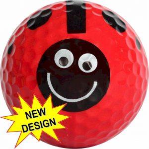 LadyBug Golf Balls Novelty One Dozen