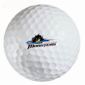 Lake Erie Monsters Refinished Titleist ProV1 Golf Balls