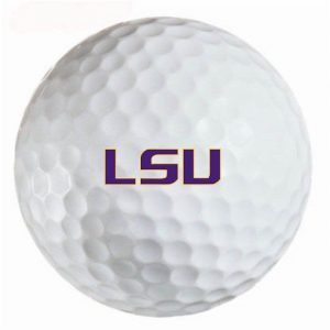 Louisiana State Tigers Refinished Titleist ProV1 Golf Balls