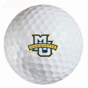 Marquette Warriors Refinished Titleist ProV1 Golf Balls
