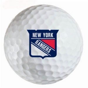 New York Rangers Refinished Titleist ProV1 Golf Balls