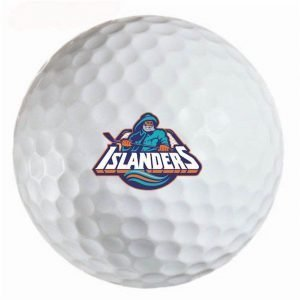 New Your Islanders Refinished Titleist ProV1 Golf Balls