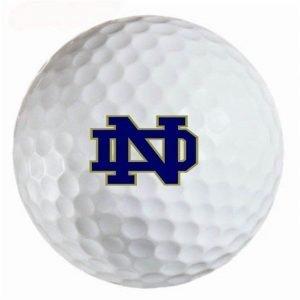 Notre Dame Irish Refinished Titleist ProV1 Golf Balls