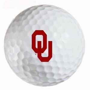 Oklahoma Sooners Refinished Titleist ProV1 Golf Balls