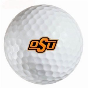Oklahoma State Cowboys Refinished Titleist ProV1 Golf Balls