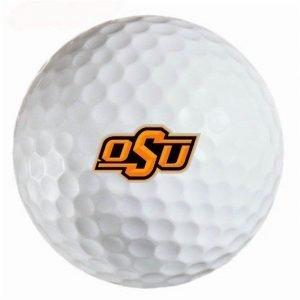 Oklahoma State Cowboys Refinished Titleist ProV1 Golf Balls