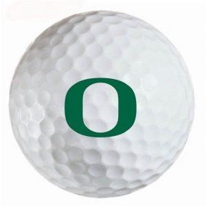 Oregon Ducks  Refinished Titleist ProV1 Golf Balls