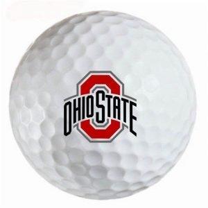 OSU Ohio State Buckeyes Refinished Titleist ProV1 Golf Balls