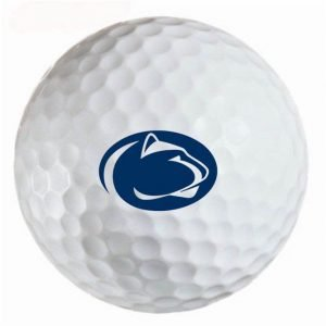 Pennsylvania State Lions Refinished Titleist ProV1 Golf Balls