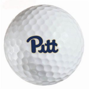 Pittsburgh Panthers Refinished Titleist ProV1 Golf Balls