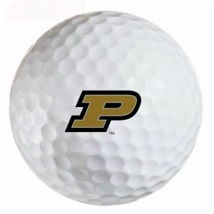 Purdue Boilermakers  Refinished Titleist ProV1 Golf Balls