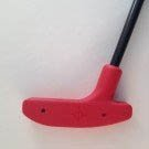 Putter 29 inch Urethane - Red with Fiberglass Shaft