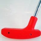 Putter 29 inch Urethane - Red with Steel Shaft