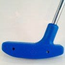 Putter 32 inch Urethane - Blue with Steel Shaft