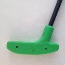 Putter 37 inch Urethane - Green with Fiberglass Shaft