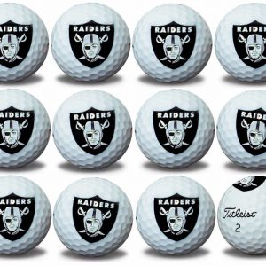 Raiders Refinished Titleist ProV1 Golf Balls