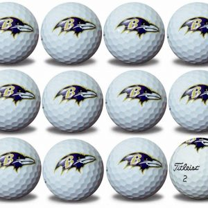 Ravens Refinished Titleist ProV1  Golf Balls