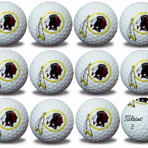 Redskins Refinished Titleist ProV1 Golf Balls