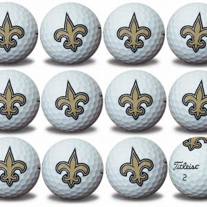 Saints Refinished Titleist ProV1 Golf Balls