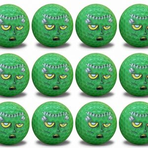 Scary Halloween Monster 12 Ball pack