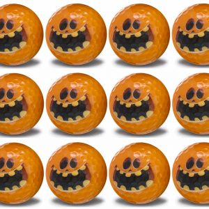 Scary Halloween Pumpkin 12 Ball pack